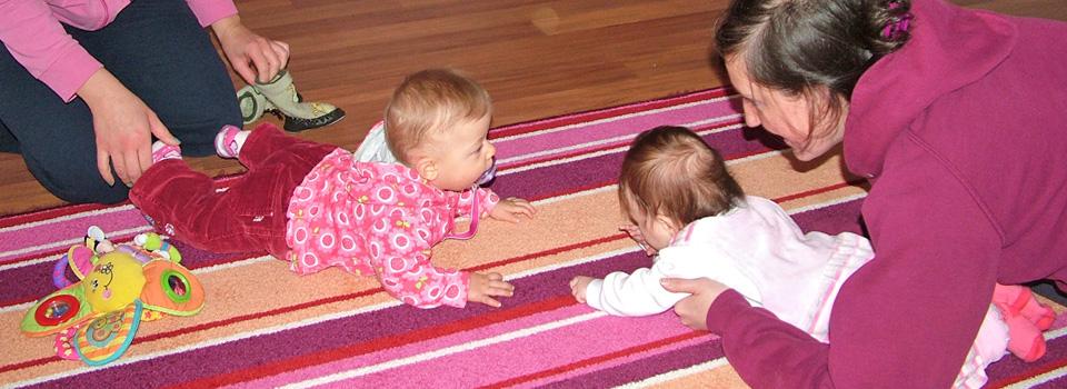 Foglalkozások babáknak - már 2 hónapos kortól