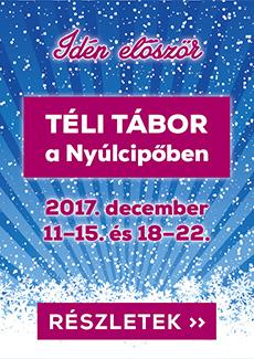 Téli tábor 2017 hirdetés