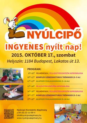 nyílt nap a Nyúlcipő 1-ben, 2015
