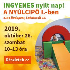 nyílt nap a Nyúlcipő 1-ben 2019