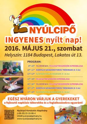 nyílt nap a Nyúlcipő 1-ben, 2016