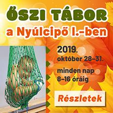 Őszi tábor a Nyúlcipő 1-ben 2019