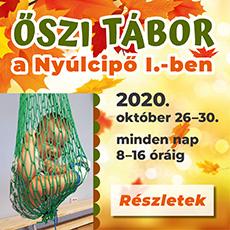 Őszi tábor a Nyúlcipő 1-ben 2020