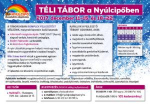 Téli tábor 2017 plakát
