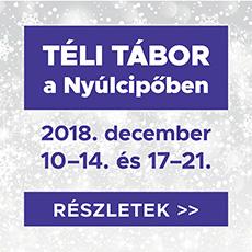 Téli tábor 2018 hirdetés
