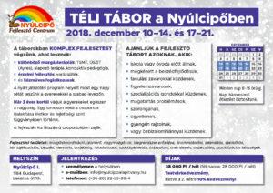 Téli tábor 2018 plakát